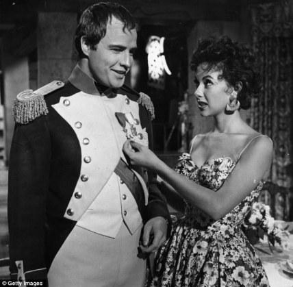 Marlon Brando e Rita Moreno, anni '50