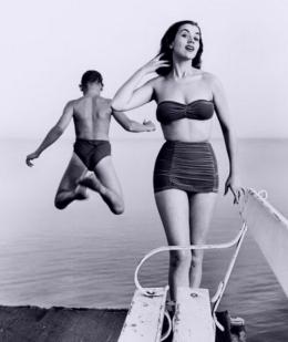 Miss World Kiki Håkansson, anni '50