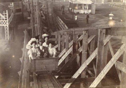 Montagne russe vittoriane ca. 1900