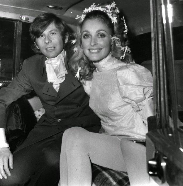 Sharon Tate e Roman Polanski. Chelsea, 1968
