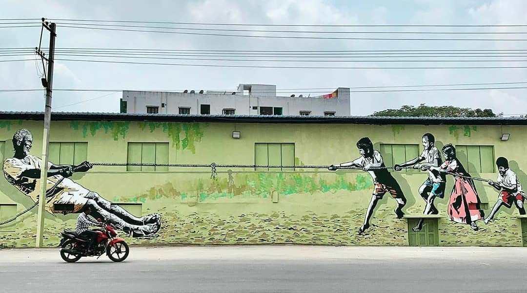 Swathi & Vijay @ Khammam, India