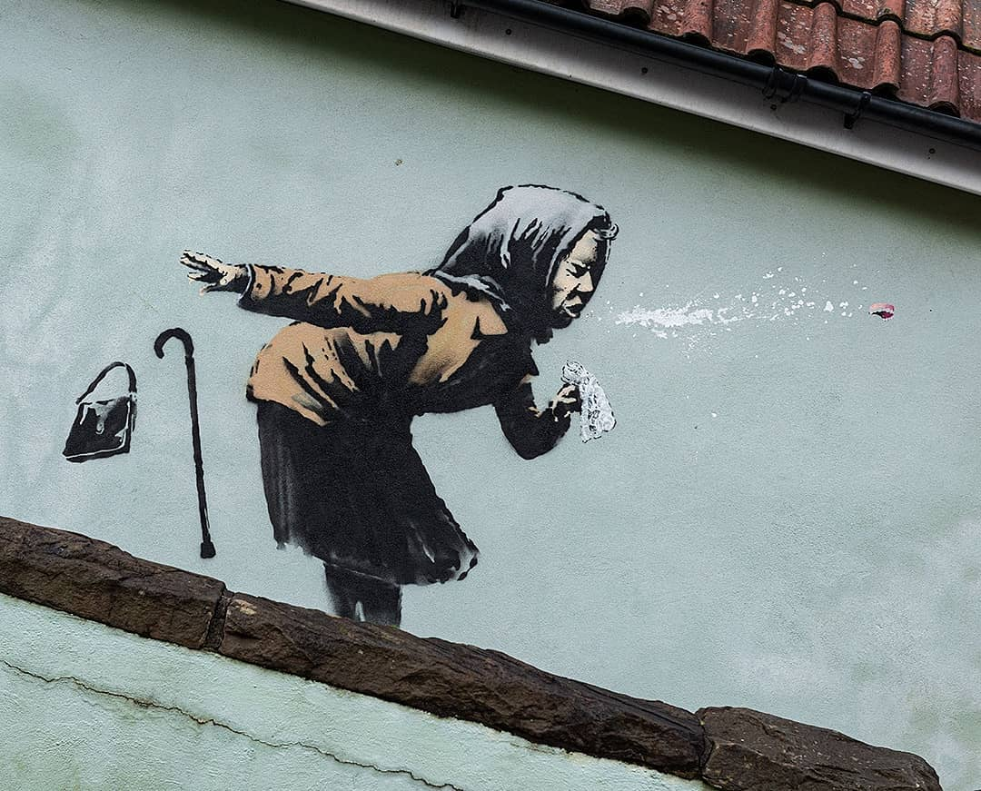 Banksy @ Bristol, UK