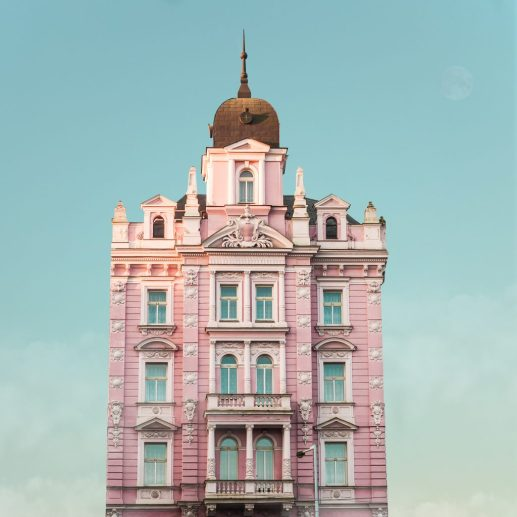 Valentina Jacks, Hotel Opera, Prague, Czech Republic, c. 1890. Photo courtesy of Accidentally Wes Anderson and @valentina_jacks