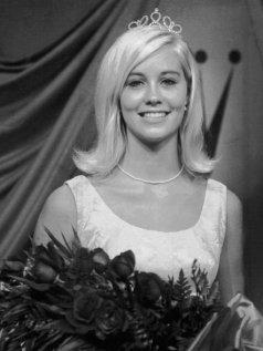 Cybill Shepherd, dopo aver vinto il concorso Miss Teenage Memphis nel 1966.