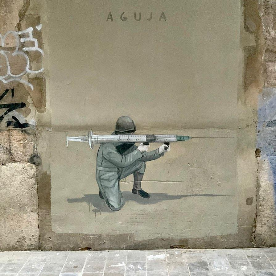 Escif @ Valencia, Spain