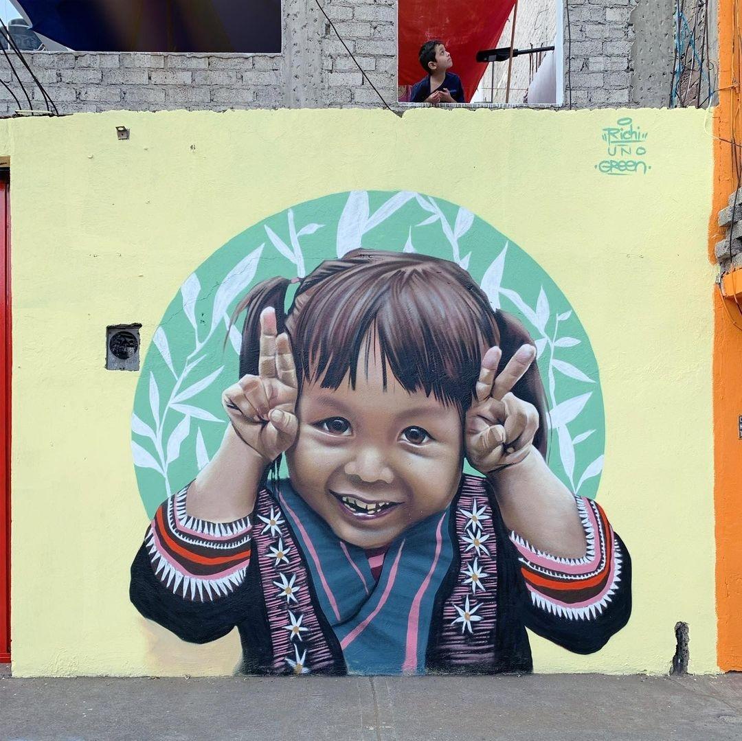 Streetart – Richy Uno @ Mexico City, Mexico