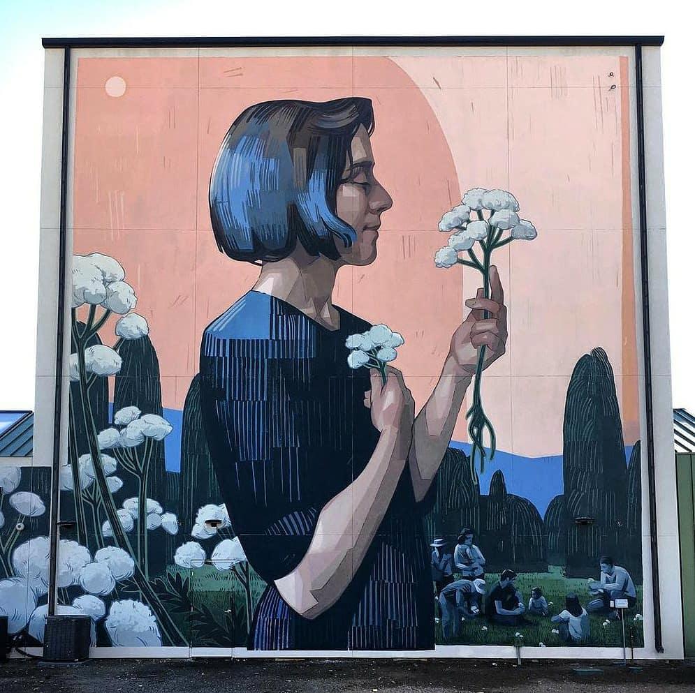 Streetart – Zane Prater @ Colorado Springs, USA