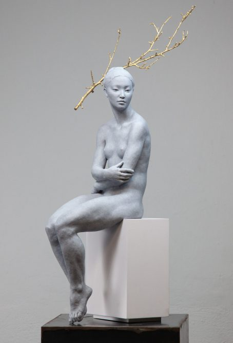 """Haiku"" (2019), bronze. By Coderch & Malavia"
