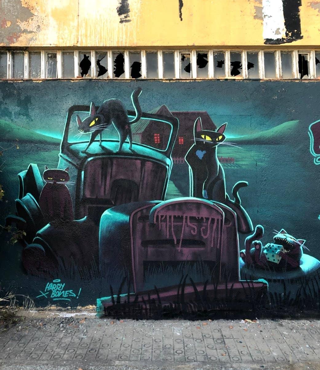 Harry Bones @ Barcelona, Spain
