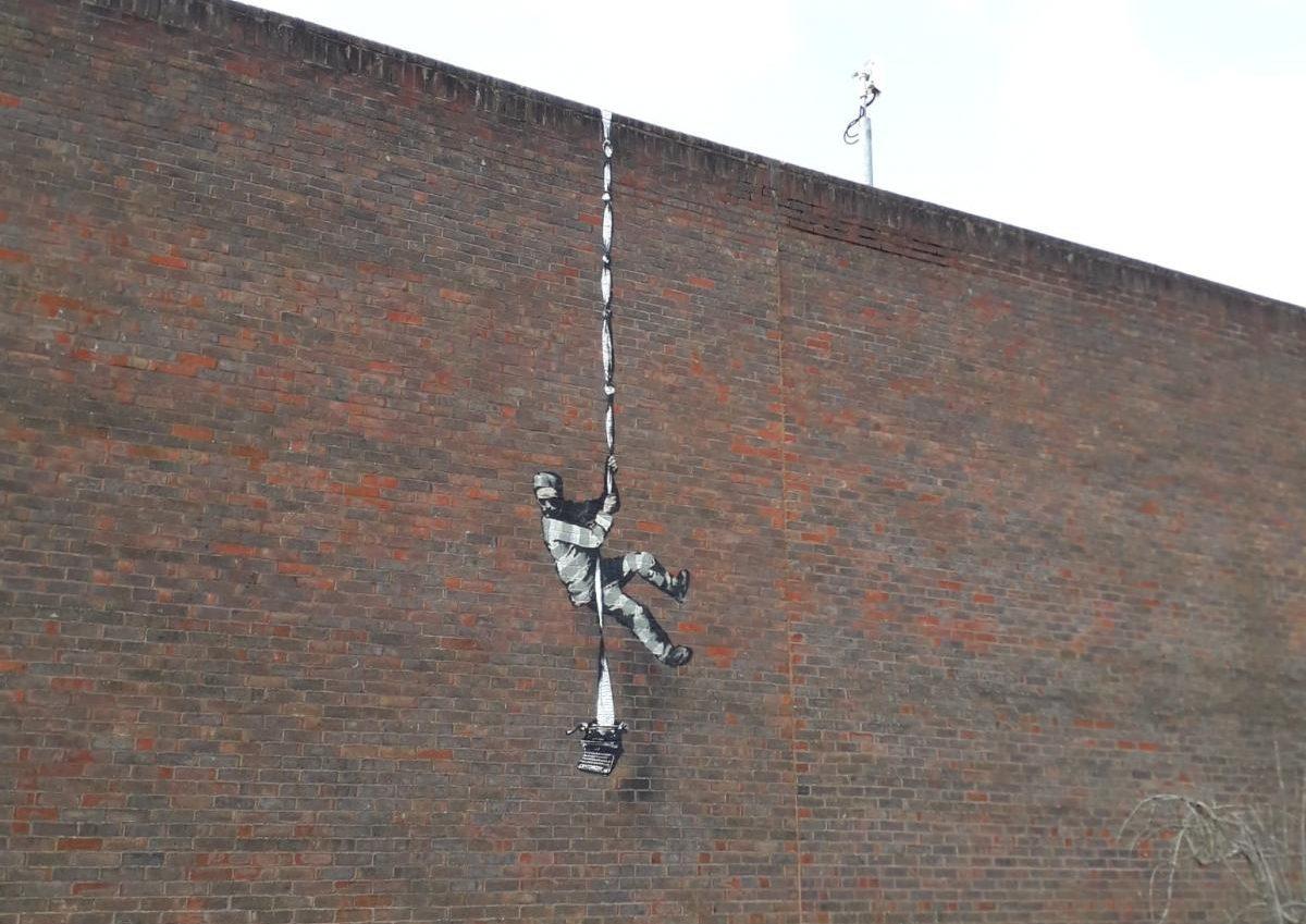 Banksy @ Reading, UK