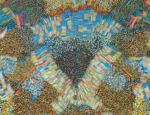 "Ilhwa Kim. ""Space Sample 45"" (2020), 184 x 152 15 cm"