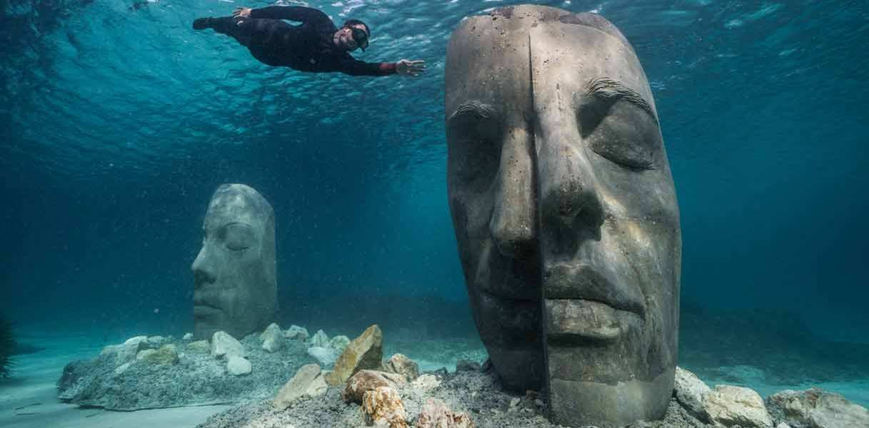 Jason deCaires Taylor @ Cannes 1