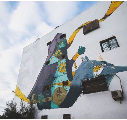Oldr + Kaillu @ Casablanca, Morocco