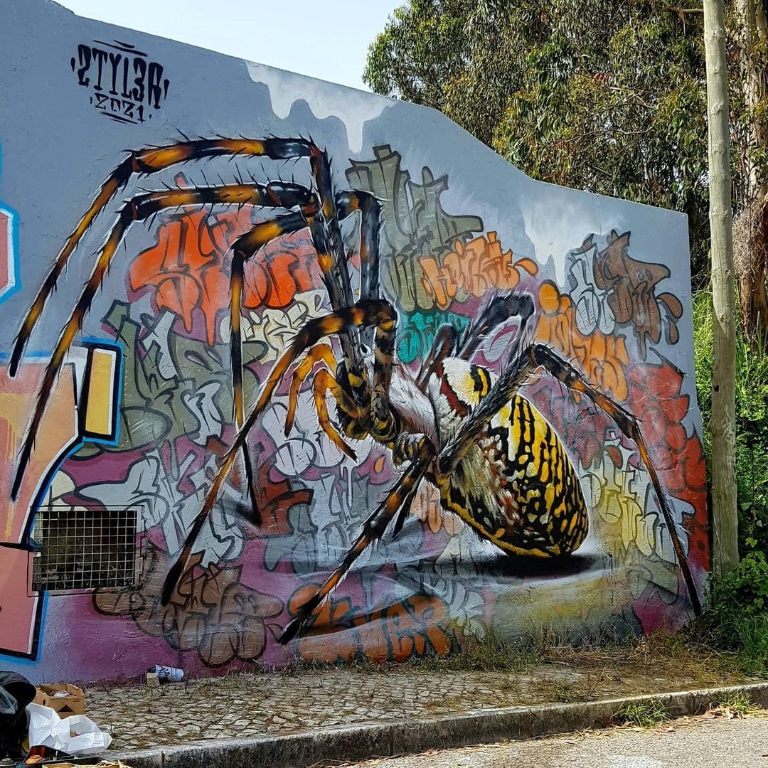 Streetart – Styler @ Lisbon, Portugal
