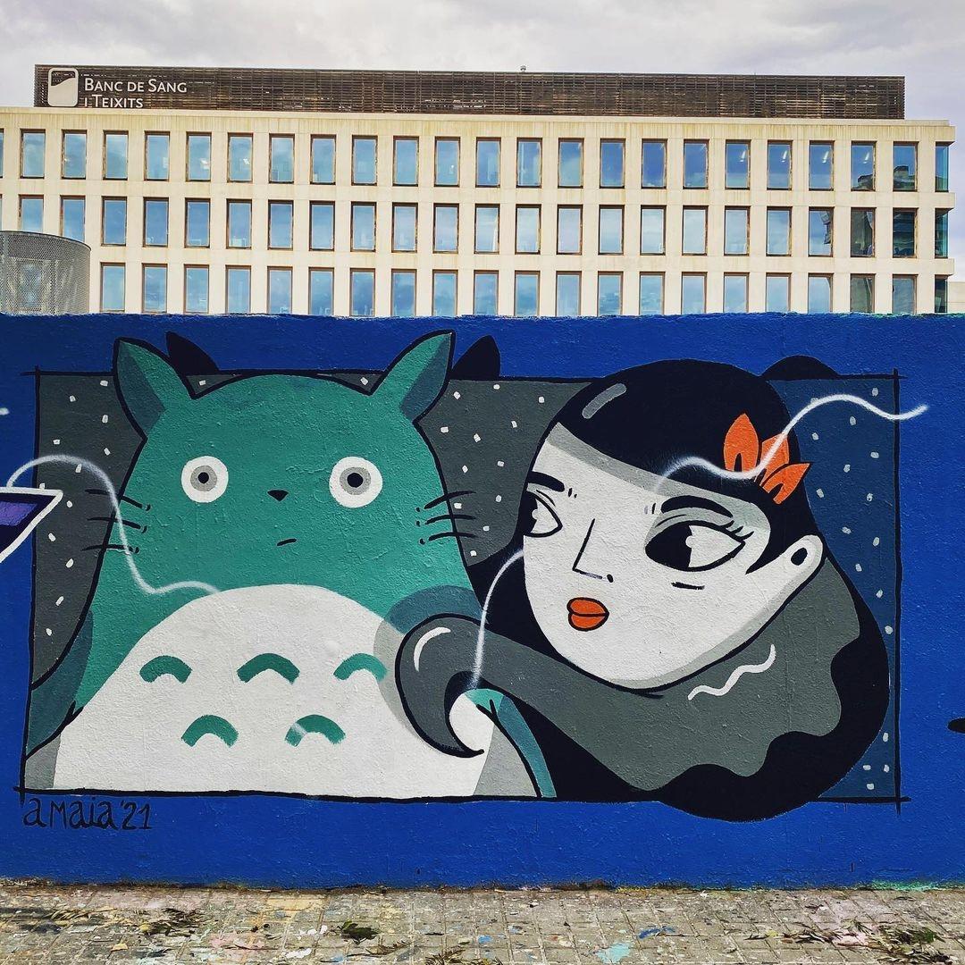 Amaia Arrazola @ Barcelona, Spain