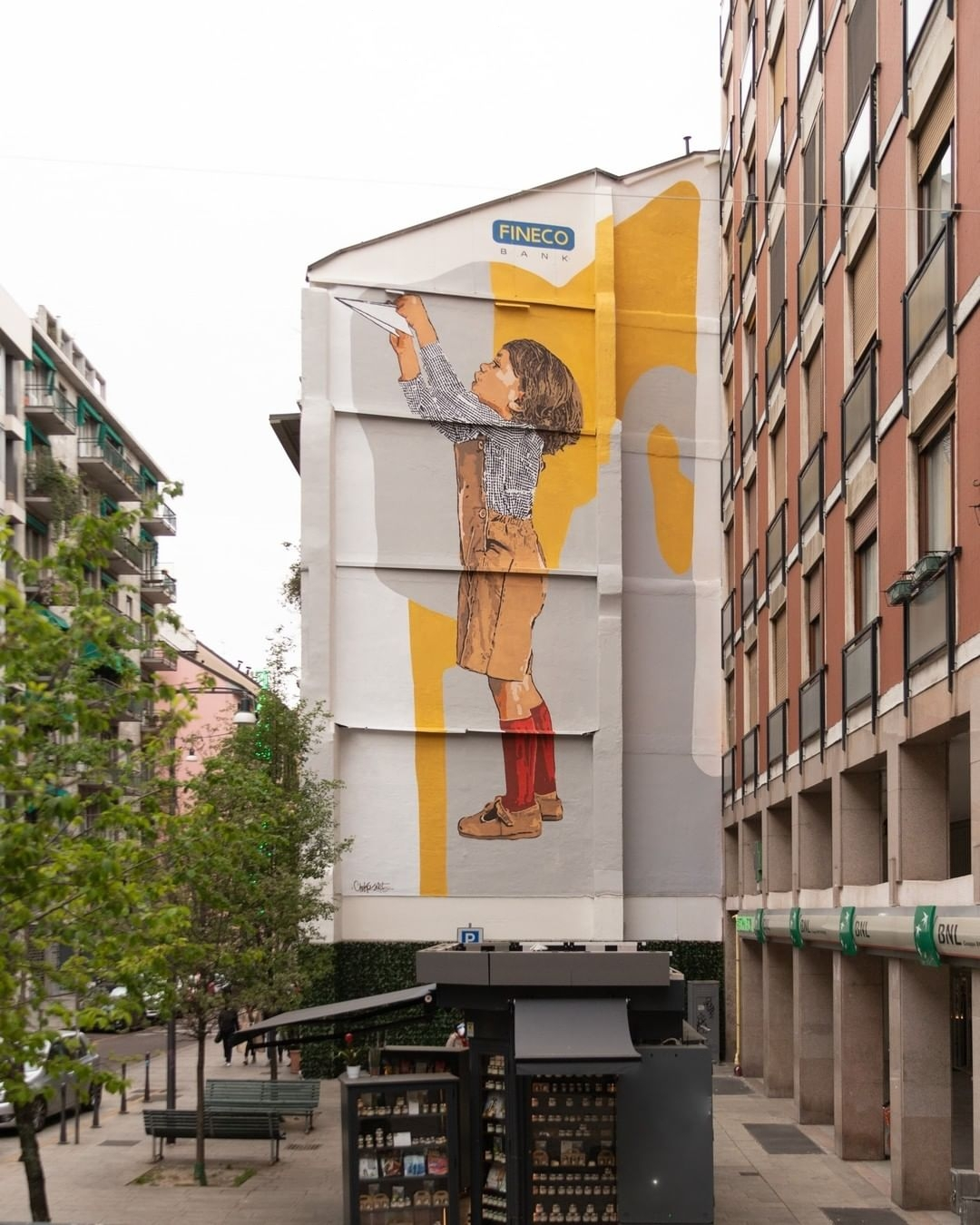 Chekos art @ Milan, Italy
