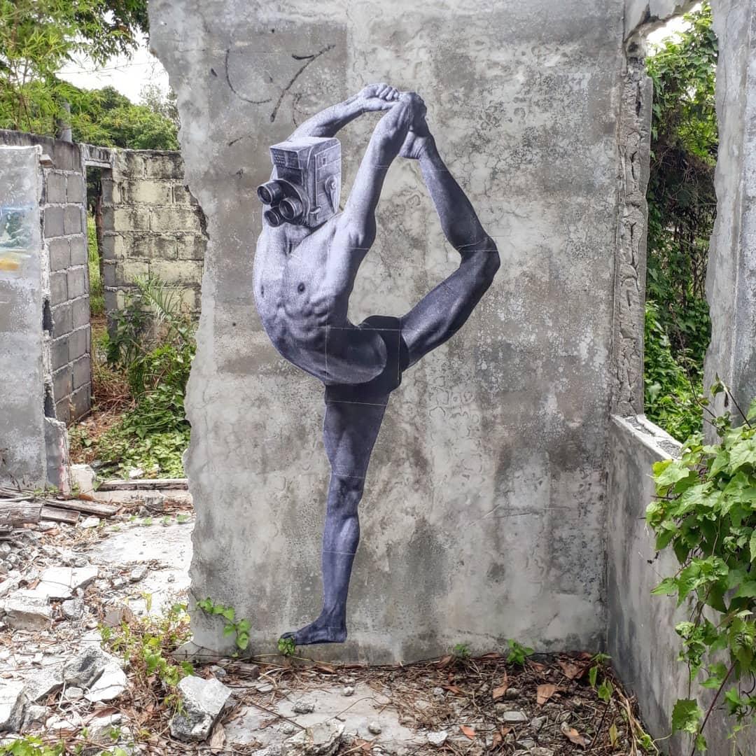 Streetart – #Codefc @ Srithanu, Koh Phangan, Thailand