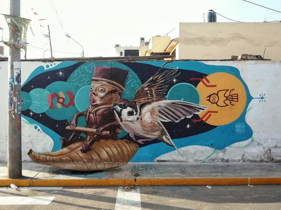 G J Murga @ Chancay, Peru