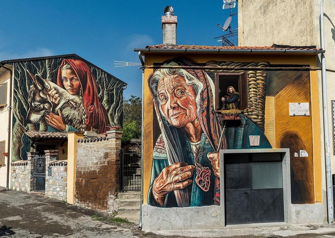 Vera Bugatti @ Sant'Angelo, Italy