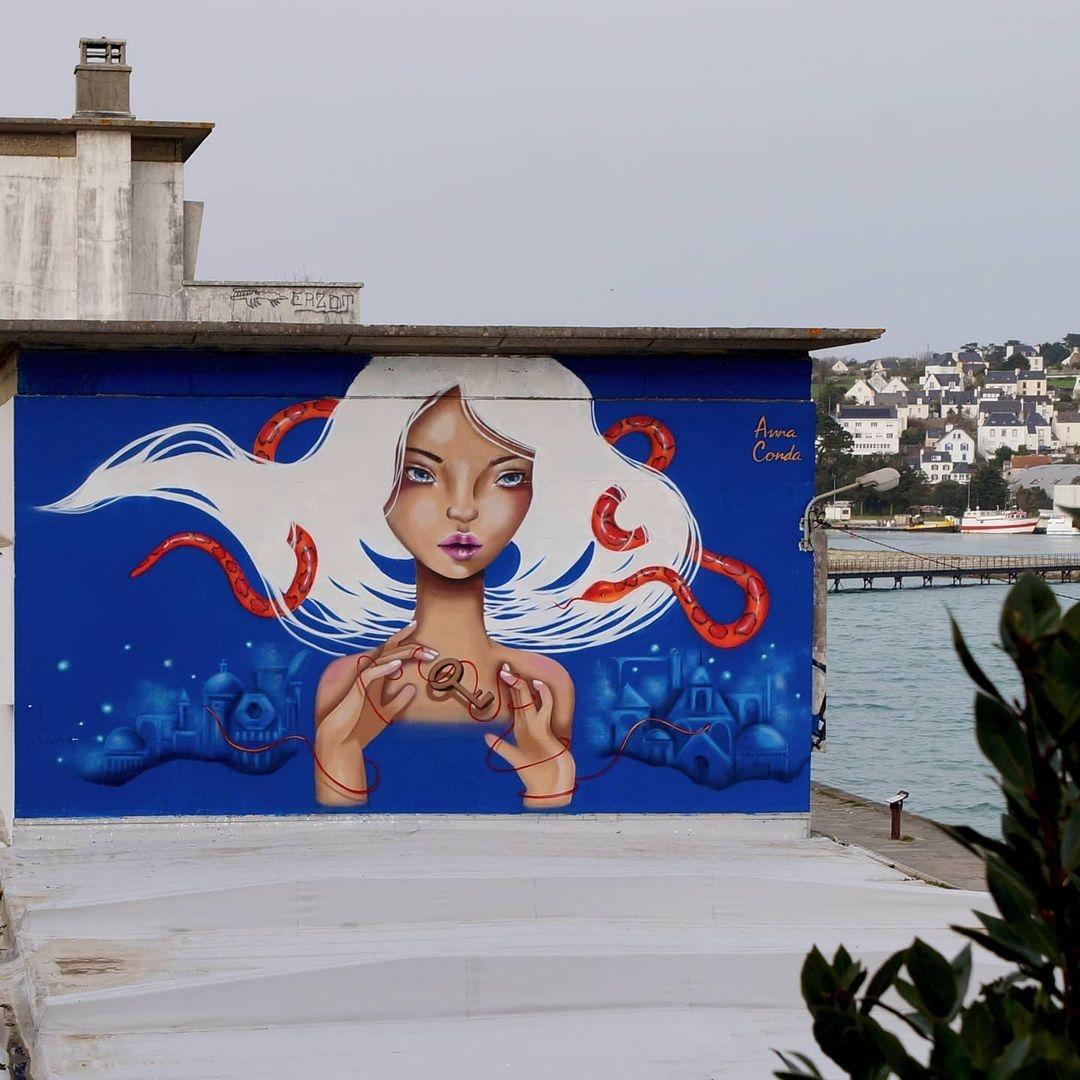 Anna Conda @ Audierne, France