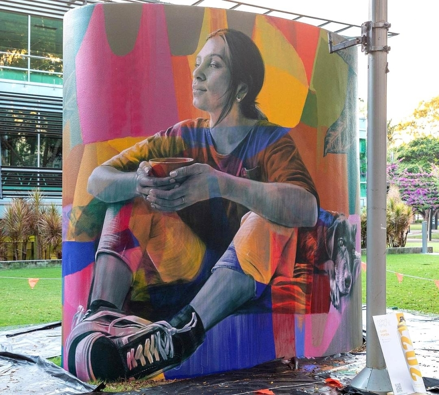 Claire Foxton @ Brisbane, Australia