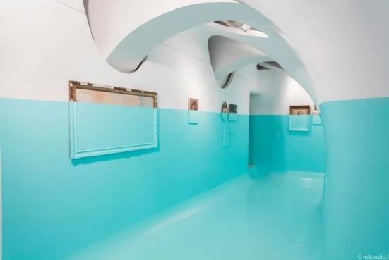 """""""Antivegetativa"""", art installation by Davide D'Elia"""