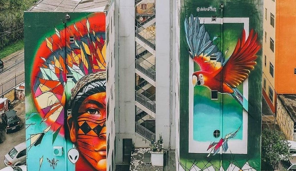Dél Grafites + Alex Ueba @ Sao Paulo, Brazil