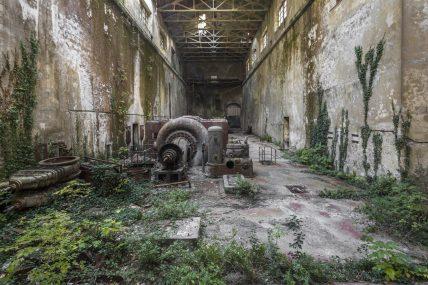 Centrale lectrique, centrale elettrica Italie, Italia. Fotografia di Jonathan Jimenez aka Jonk