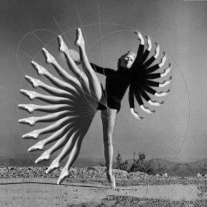 """Atomic Ballet"", digital collage by Adam Ring"