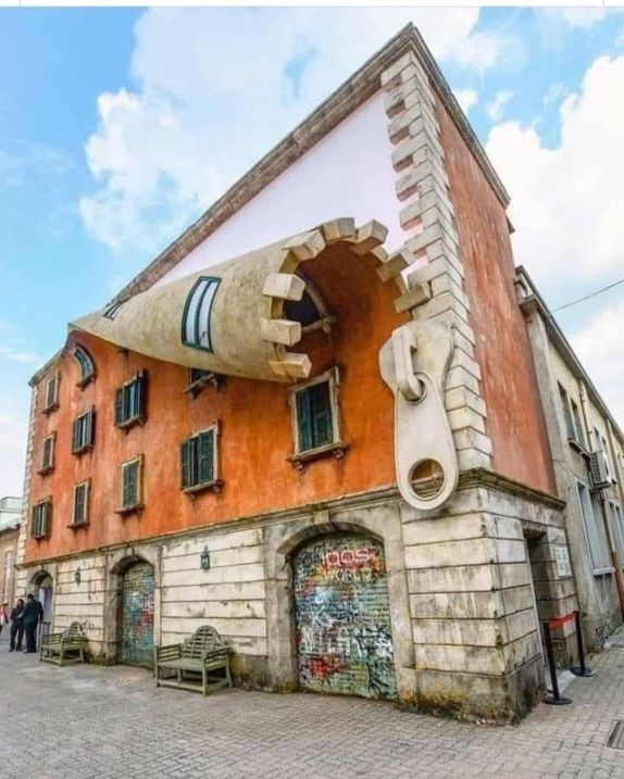 Artwork by Alex Chinneck for Milan Design Week 2019