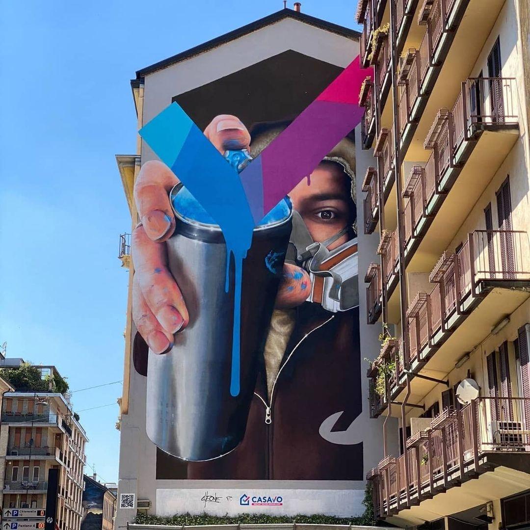 Cheone @ Milan, Italy