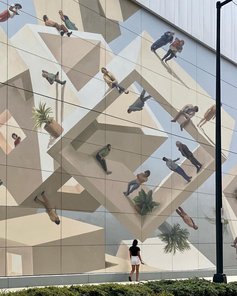 Streetart – Cinta Vidal @ Atlanta, USA