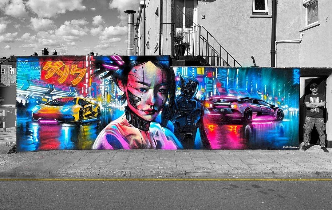 Streetart – DANK @ London, UK