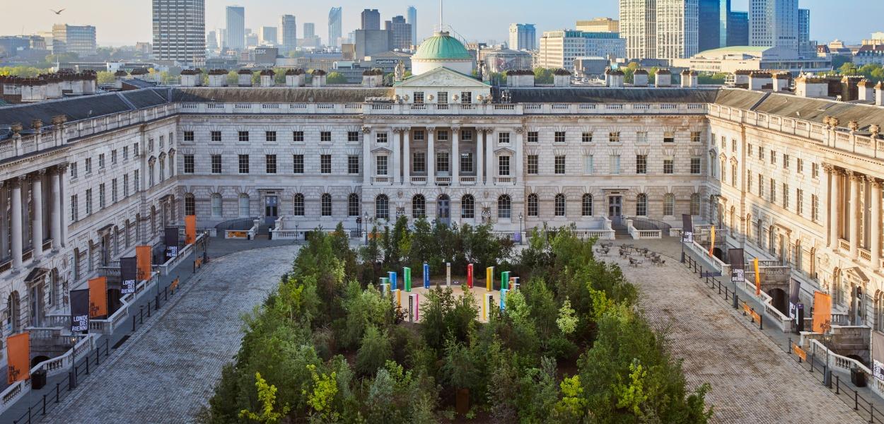 """Forest for Change"" by Es Devlin for London Design Biennale"