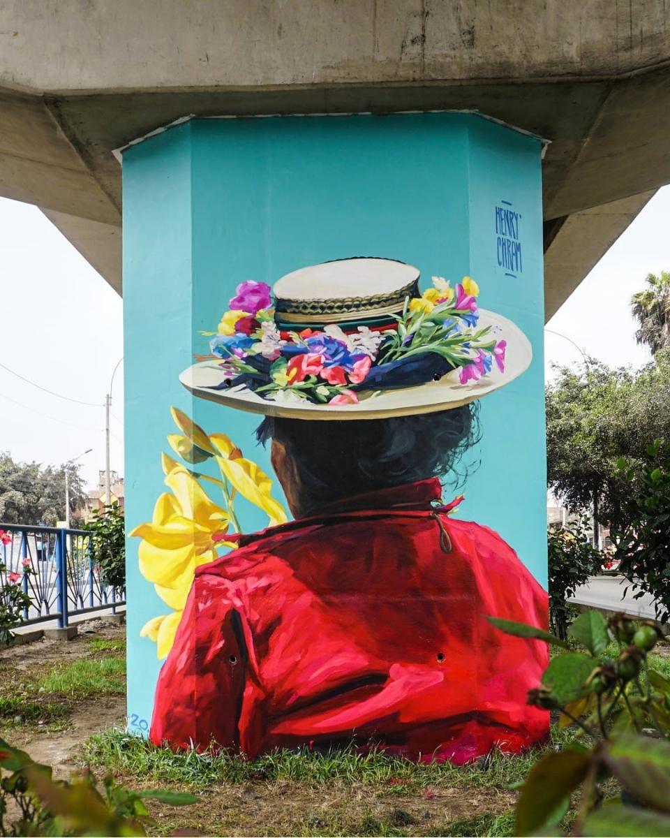 Streetart – Henry Chram @ Lima, Peru