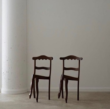 Cross-legged Chairs by Luiz Phillippe