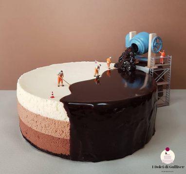 Creative dessert design by Matteo Stucchi