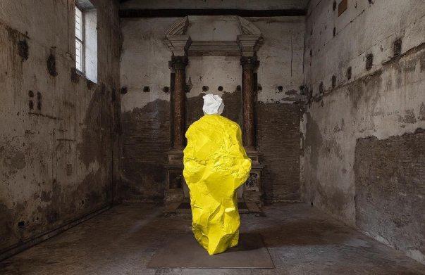 Monk by Ugo Rondinone