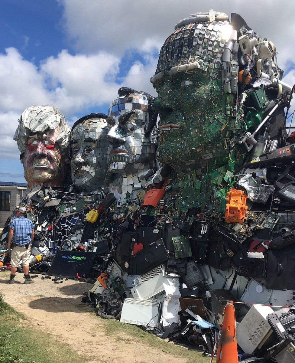 Mount Recyclemore by Joe Rush