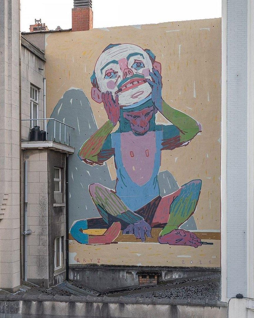 Aryz @ Ostend, Belgium