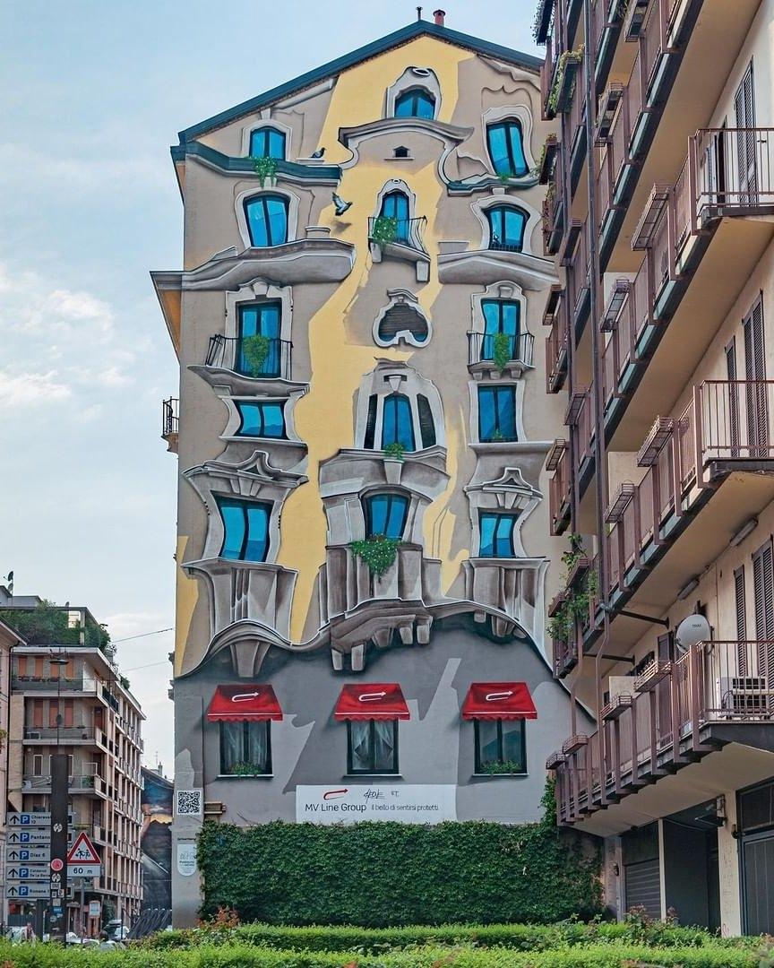 Streetart – Cheone @ Milan, Italy