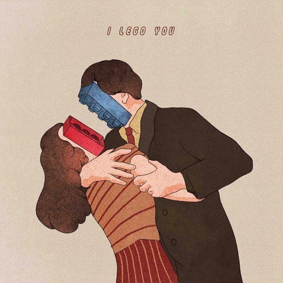 """I Lego You"" by Giulia Rosa"