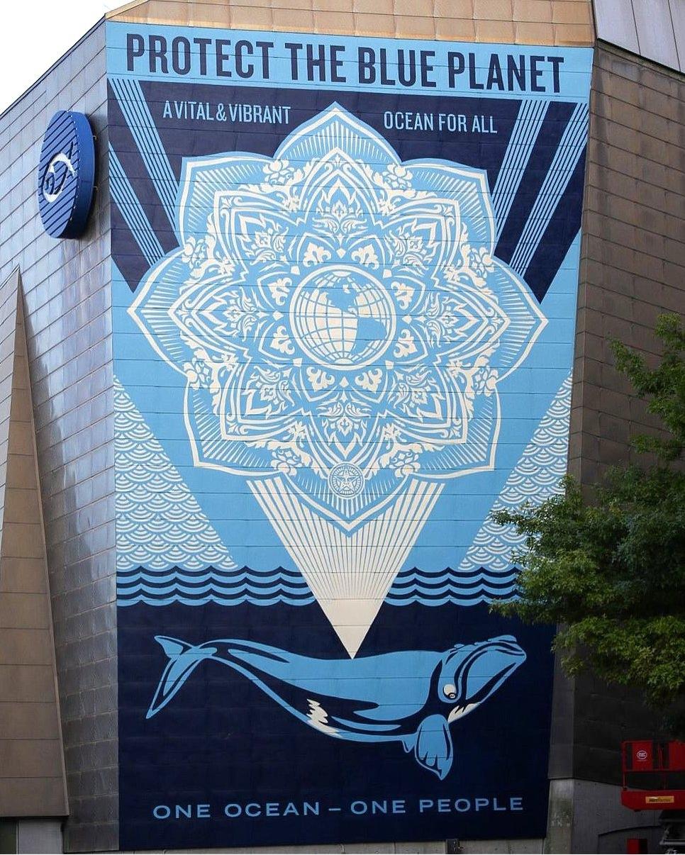 Obey Giant @ Boston, USA
