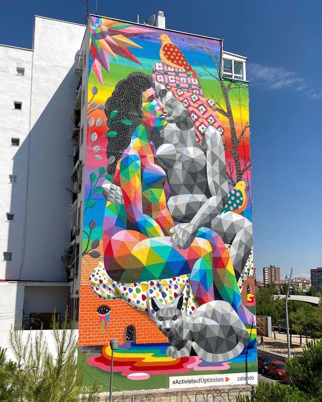 Okudart @ Madrid, Spain