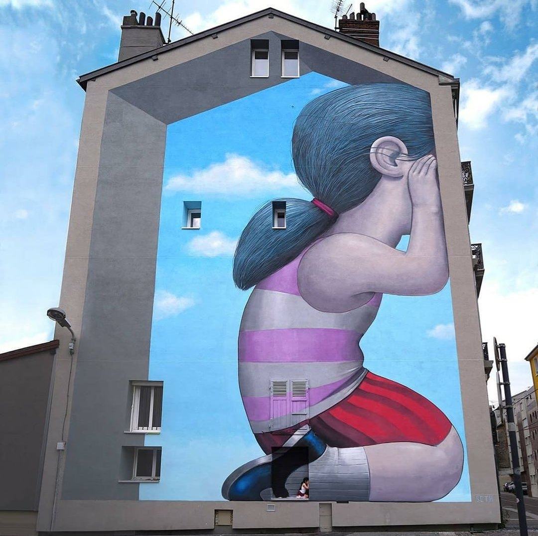 Seth Globepainter @ Fontaine, France