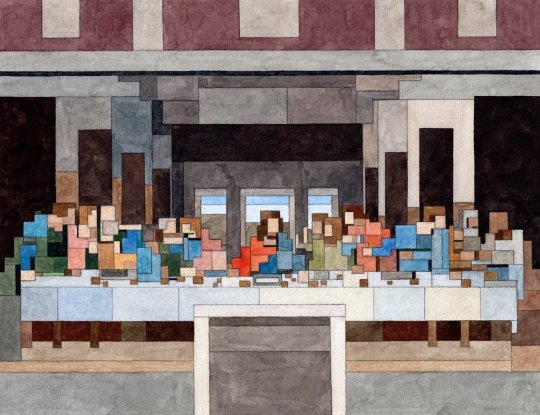 The Last Supper (2021) by Adam Lister