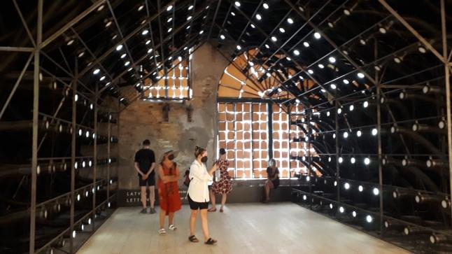 Padiglione Lettonia alla Biennale Architettura 2021
