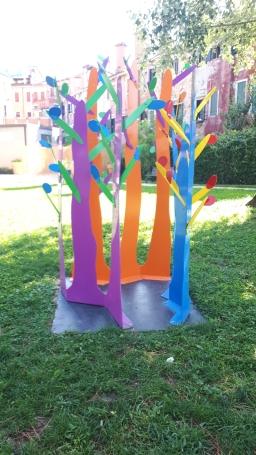 """""""Triffid V"""" di Andrée Valley ai Giardini di Marinaressa"""