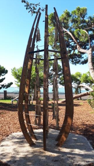 """""""Il primo cerchio del paradiso"""" di Bjørnådal Arkitektstudio ai Giardini di Marinaressa"""