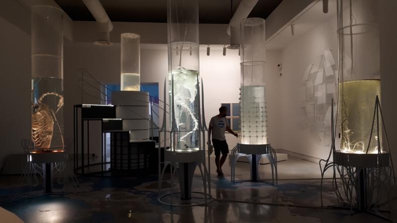 """Hollow Ocean"" di Pinar Yoldas alla Biennale Architettura 2021"